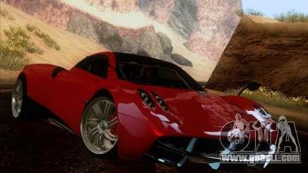 Pagani Huayra 2012 for GTA San Andreas