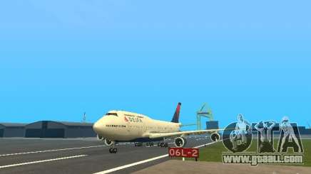 Boeing 747-400 Delta Airlines for GTA San Andreas