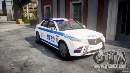 Carbon Motors E7 Concept Interceptor NYPD [ELS] for GTA 4