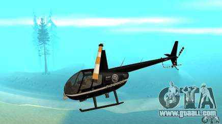 Robinson R44 Raven II NC 1.0 Black for GTA San Andreas