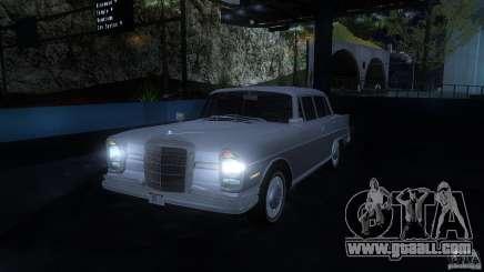Mercedes-Benz 300SE US for GTA San Andreas