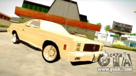 Chevrolet El Camino 1976 for GTA San Andreas