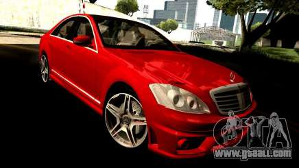 Mercedes-Benz S65 AMG 2007 for GTA San Andreas