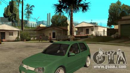 Volkswagen Golf IV GTI for GTA San Andreas