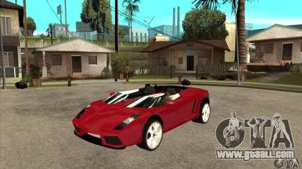 Lamborghini Concept S for GTA San Andreas