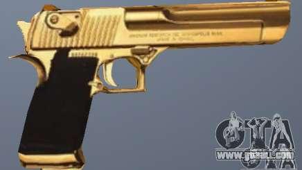 Golden Desert Eagle for GTA San Andreas