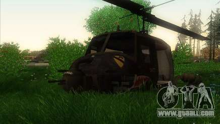 Huey helicopter from call of duty black ops for GTA San Andreas