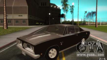 Plymouth Barracuda Formula S for GTA San Andreas