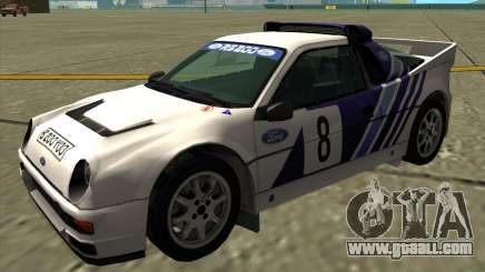 Ford RS200 rally for GTA San Andreas