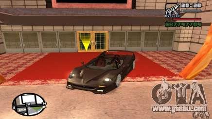 Ferrari F50 Cabrio for GTA San Andreas