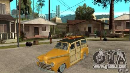 Ford Woody Custom 1946 for GTA San Andreas