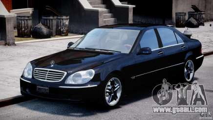 Mercedes-Benz W220 for GTA 4