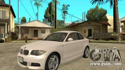 BMW 135i Coupe for GTA San Andreas