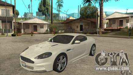 Aston Martin DBS for GTA San Andreas
