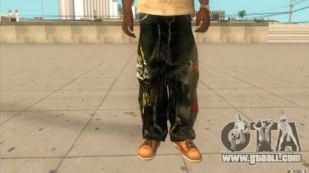Hip-hop jeans for GTA San Andreas