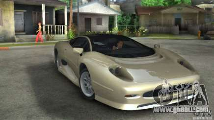 Jaguar XJ 220 Black Rivel for GTA San Andreas