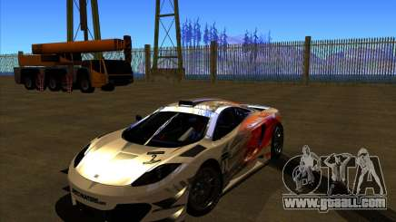 McLaren MP4 - SpeedHunters Edition for GTA San Andreas