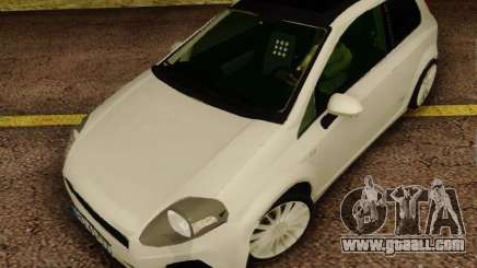 Fiat Grande Punto CLD Style for GTA San Andreas