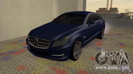 Mercedes-Benz CLS63 AMG 2012 for GTA San Andreas