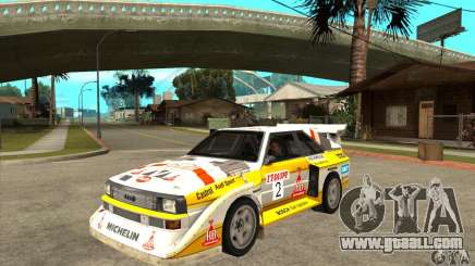 Audi Quattro S1 Group B for GTA San Andreas