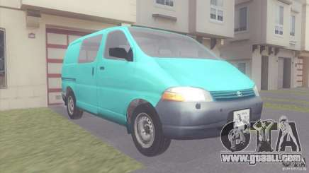 Toyota Granvia for GTA San Andreas