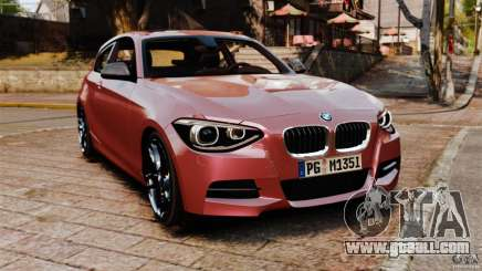 BMW M135i 2013 for GTA 4