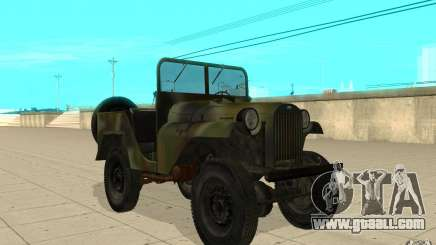 Gaz-64 skin 2 for GTA San Andreas