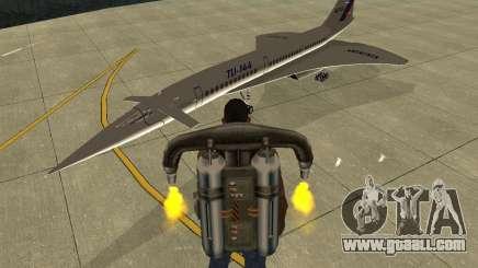 Tupolev TU-144 for GTA San Andreas