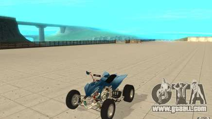 Yamaha YFZ 450 SuperCross Skin 1 for GTA San Andreas