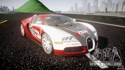 Bugatti Veyron 16.4 v1 for GTA 4