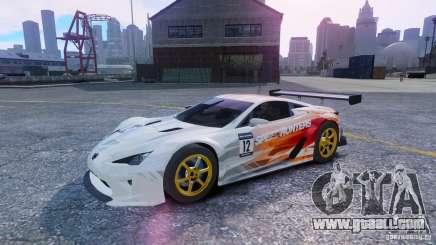 Lexus LFA SH for GTA 4