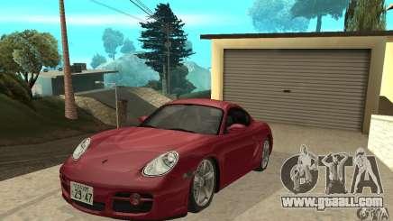 Porsche Cayman S for GTA San Andreas