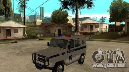 UAZ 31514 patrol for GTA San Andreas