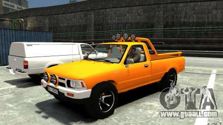 Toyota Hilux 1989-1993 Single cab v1 for GTA 4