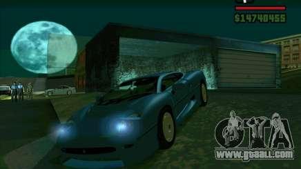 Jaguar JXJ 220 for GTA San Andreas