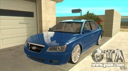 Hyundai Sonata NF for GTA San Andreas