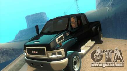 GMC Topkick C4500 2008 for GTA San Andreas