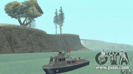 Coast Guard Patrol Boat for GTA San Andreas