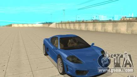 Turismo from GTA 4 for GTA San Andreas