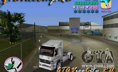 Mercedes-Benz Actros for GTA Vice City