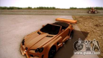Mercedes-Benz SLR-Mclaren 722 Cabrio Tuned for GTA San Andreas