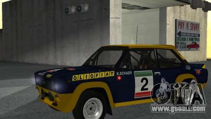 Fiat 131 Rally for GTA San Andreas