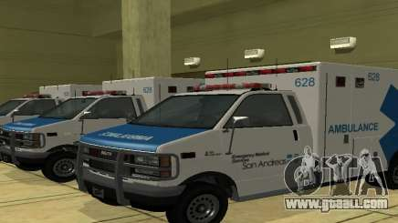 Ambulance from GTA 4 for GTA San Andreas