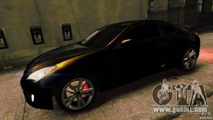 Hyundai Genesis Coupe 2010 for GTA 4