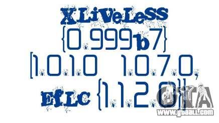 XLiveLess 0.999b7 [1.0.1.0-1.0.7.0,EfLC 1.1.2.0] for GTA 4