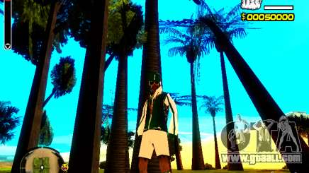 Skin bum v5 for GTA San Andreas