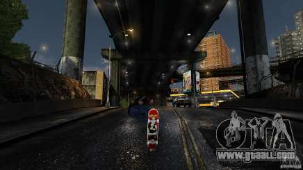 Skateboard # 3 for GTA 4