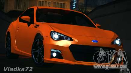 Subaru BRZ S 2012 for GTA San Andreas