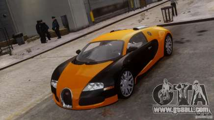 Bugatti Veyron 16.4 for GTA 4