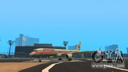 Boeing 757-200 American Airlines for GTA San Andreas